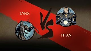 Shadow Fight 2 - LYNX VS TITAN