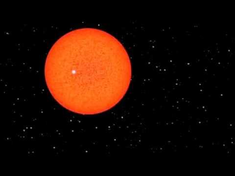 Earth, Sun, Rigel and VY Canis Majoris