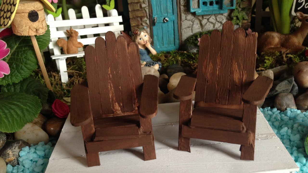 Fairy Garden Adirondack Chair Tutorial