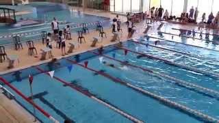 Natación Benjamín Femenino - 200 m. Libres - Tudela (Navarra) 10/05/2014
