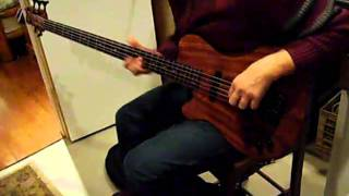 Ainesis Manitou 5 string Bass Demo