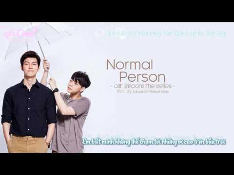 [Vietsub + Engsub] NORMAL PERSON - Suradech Pinitwat (Bas) [OST 2Moons The Series]