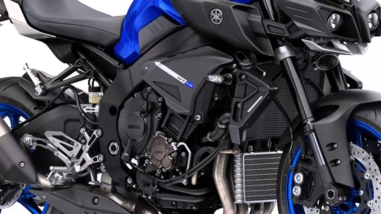 Yamaha MT-10 SP (2017) - First Ride and Review - YouTube