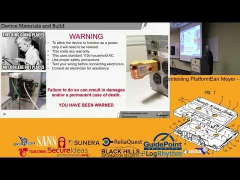 Ean Meyer - Hiding in Plain Sight: Building a Hidden Remotely Accessible Pentesting Platform