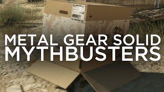 Metal Gear Solid V Mythbusters: Episode 4