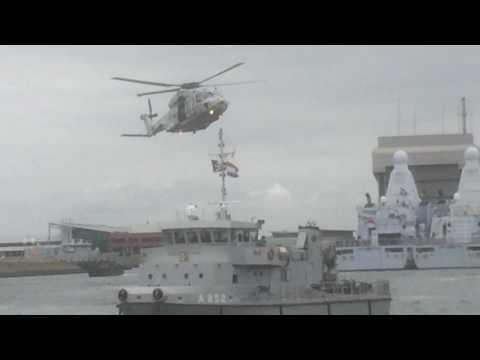 Dutch Navy anti-piracy demo (24-6-2017).