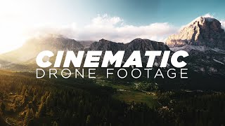 CINEMATIC DRONE SHOTS | 7 Tips that will get you there!
