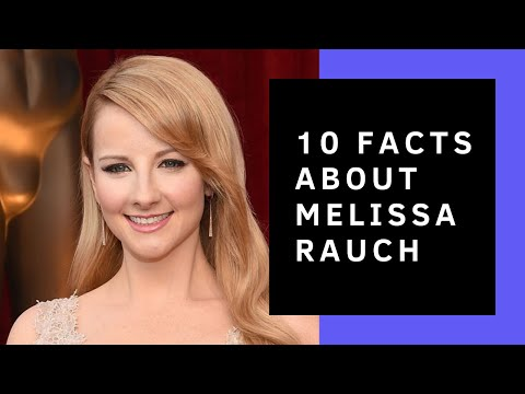 Melissa Rauch  10 Facts Didn't Know About Her