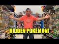 GOING AROUND THE STORE SEARCHING FOR HIDDEN POKEMON CARDS! Opening #59