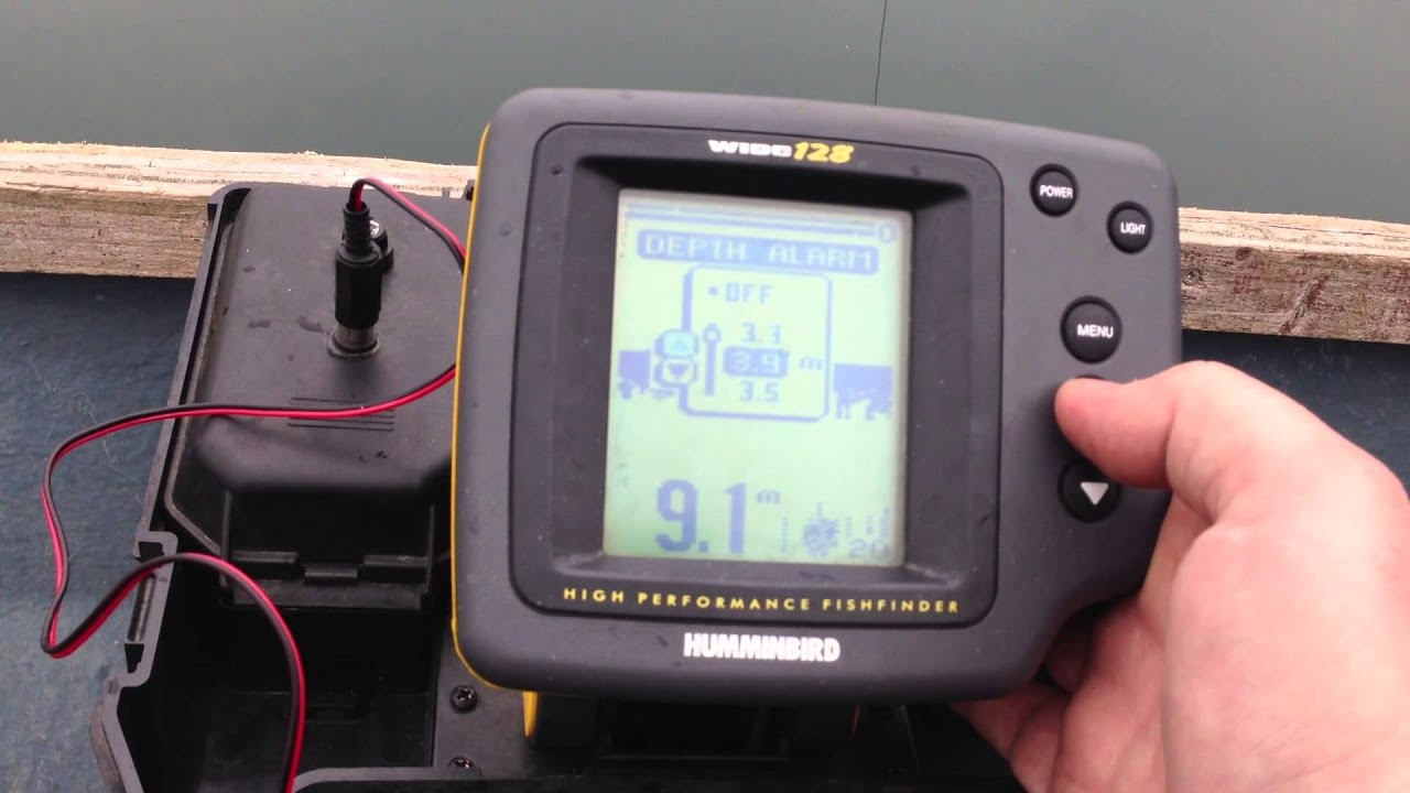 sonar humminbird portable