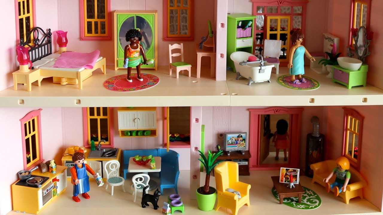 Dollhouse Barbie Dreamhouse Furnishing Ideas How To Arrange