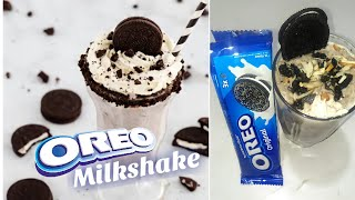 Фото How To Make Oreo Milkshake At Home    Chocolate Milkshake With Oreo Cookies    #oreo #oreoshake