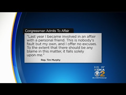 Pa. Rep. Tim Murphy Admits To Having Affair