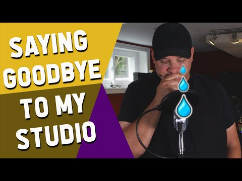 I Have to Tear Down My Home Studio
