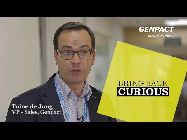 Genpact's Bring Back Curious: Toine De Jong