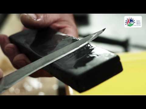 F01 01 Rozbiór półtuszy ostrzenie noży