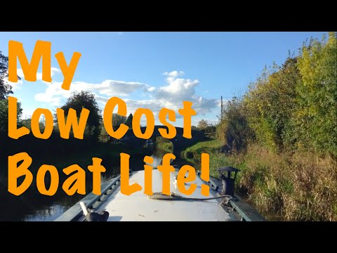 My Low Cost, Simple Narrowboat Lifestyle