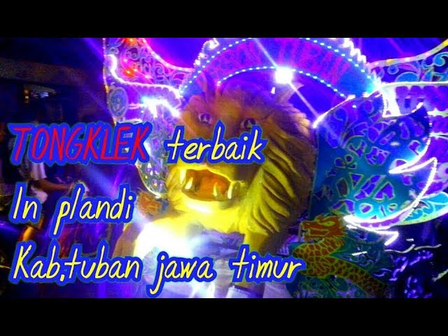 festival Tongklek terbaik 2018 kabupaten tuban.