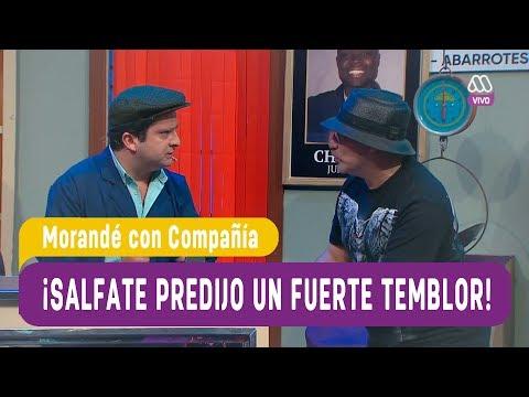 ¡Salfate Predijo Un Fuerte Temblor! - Morandé Con Compañía 2019