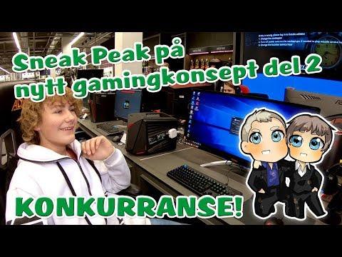 Sneak Peak på nytt gamingkonsept hos Elkjøp i København del 2 av 2