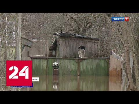 Новгородская и Тверская области под водой: людей эвакуируют - Россия 24