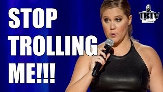 Amy Schumer Says The ALT-RIGHT Trolls Her Netflix Special