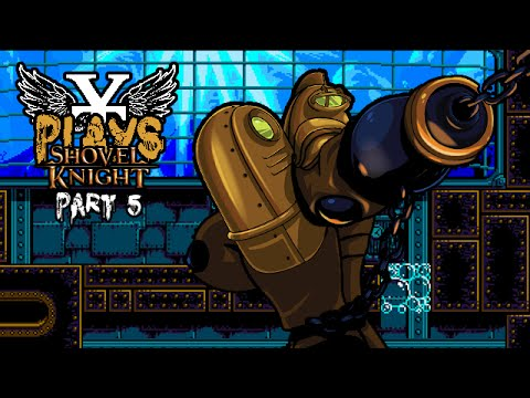 YT Plays Shovel Knight - PART 5 - Naff Off, Scary Fish!