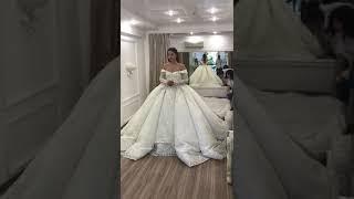 Саша Артёмова Дом 2 примерка свадебного платья