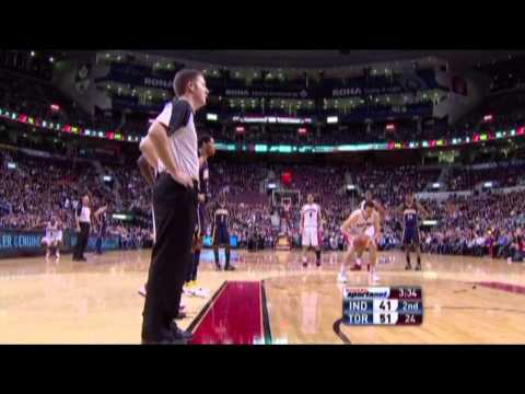 Andrea Bargnani vs Indiana Pacers / Mar. 11th, 2011