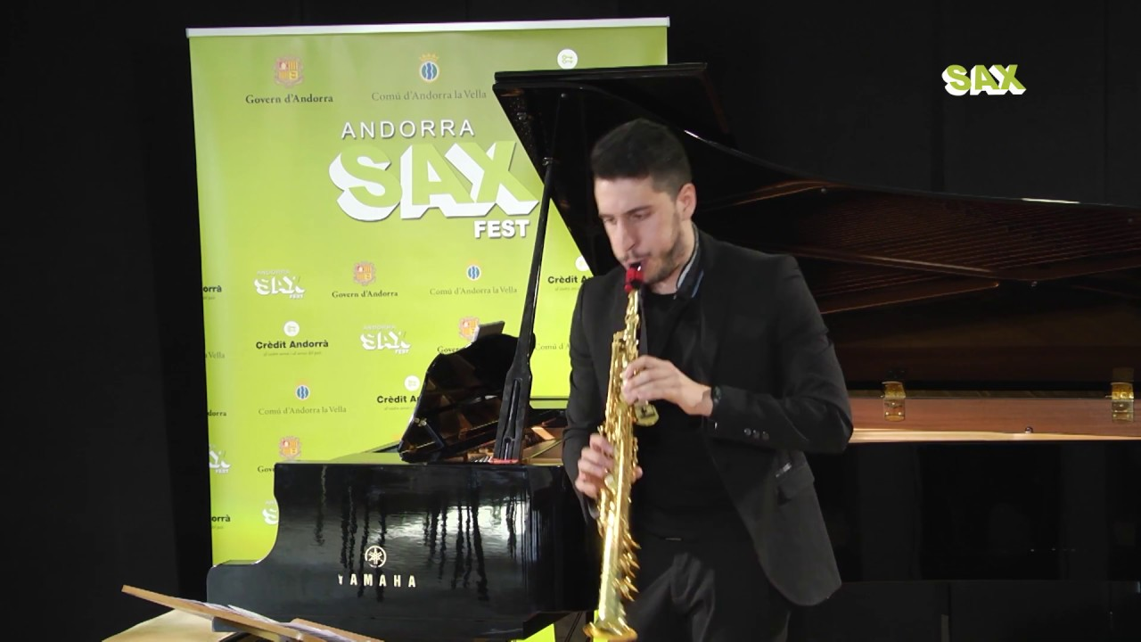 CARLOS MONTESINOS PARRA - 1st ROUND - V ANDORRA INTERNATIONAL SAXOPHONE COMPETITION 2018