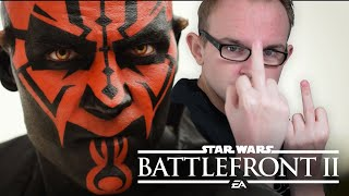 In Star Wars: Battlefront 2 kriegt DARTH aufs MAUL