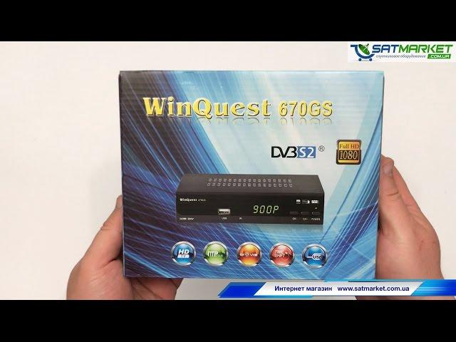 Видео обзор WinQuest 670GS HD