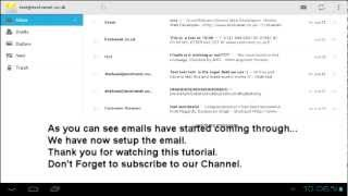 How to setup Pop3 email account on an Android device by Web design Birmingham