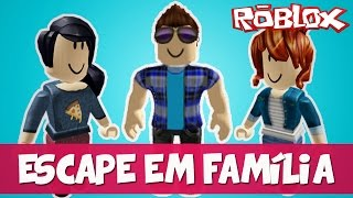 ESCAPING FROM THE FAMILY BATHROOM! -ROBLOX (Escape the Bathroom Obby)