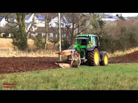 Ploughing the Red Sandstone Soil with 6930.