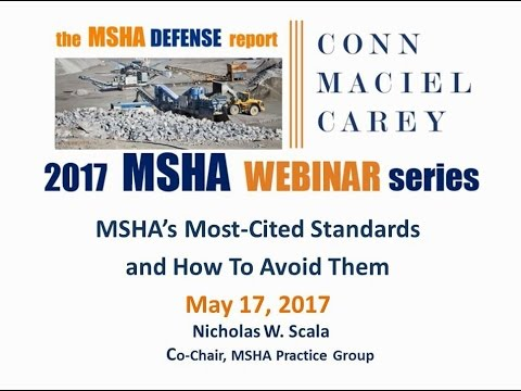 MSHA's Most Cited