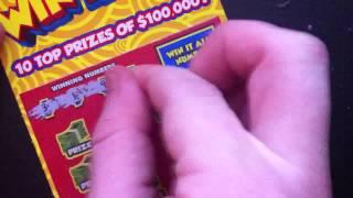 """PA Lottery """"Win it All"""" $5 Ticket"""