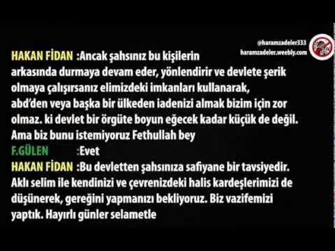 Hakan Fidan Ile Fethullah Gülen Arasında Geçen Telefon Konuşması