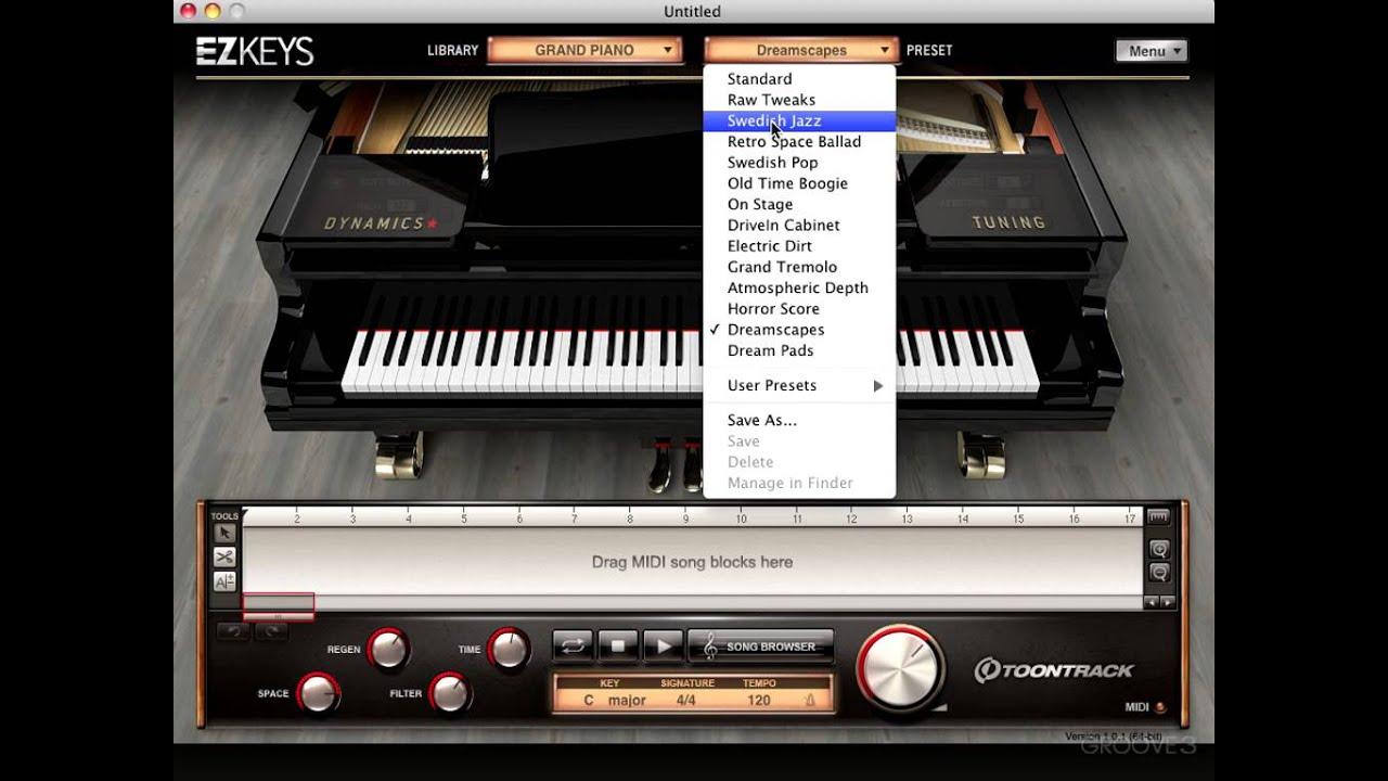 The Piano - EZkeys Explained