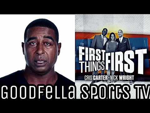 Here's Why Cris Carter Is Suspended Indefinitely By Fox  & Maybe Fired!!!