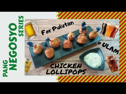 How to Make Chicken Lollipops | Negosyo Ideas | Travel Ch3f