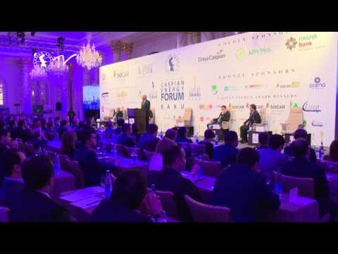 Абдолбари Гоозал - Caspian Energy Forum - Baku 2015-rus