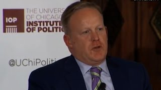 Sean Spicer  Lying to media not acceptable