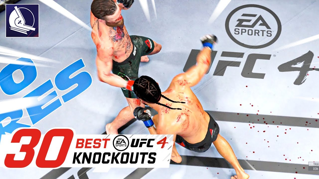Ea Sports Ufc 4 Top 30 Best Knockouts Youtube