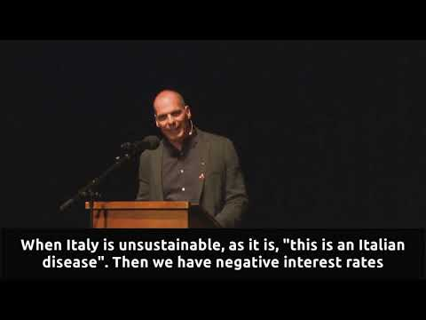 """We are facing a systemic crisis in Europe"" - Part I - Yanis Varoufakis 