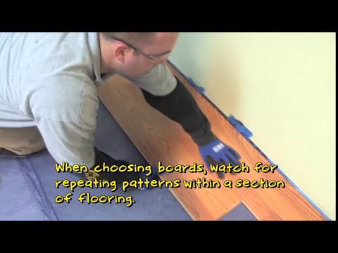 flooring-101:-how-to-install-laminate-flooring-(angle-angle-method)- -lumber-liquidators