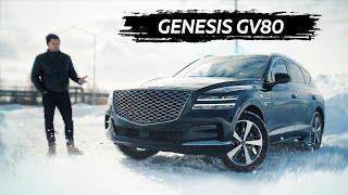 Genesis GV80(дизель).Тест-драйв.Anton Avtoman.