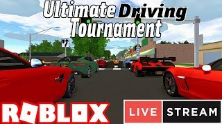 Ultimate Driving tournament! *Robux Prize* - LiveStream