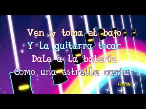 Rainbow Rocks intro Letra - español latino