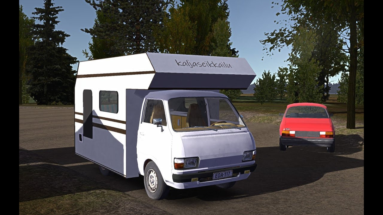 My Summer Car Picking Up New Computer Camper Van Mod Sunday Stream